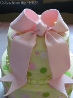 BridalBow-PinkGreen