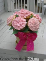 Breast Cancer Bouquet