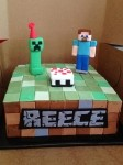 MinecraftCreeperCake